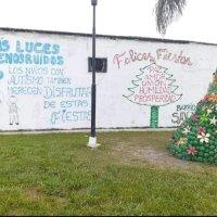 """Vecinos de Monteros se suman a la campaña de """"Más luces menos ruidos"""""""